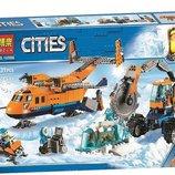 Конструктор Bela 10996 City Арктическая экспедиция