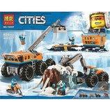 Конструктор Bela City Передвижная арктическая база 10997