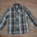 рубашка мальчику F&F на 8-9 лет рост 128-134 Англия