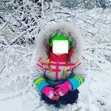 Зимний костюм Bilemi р.104 куртка и полукомбинезон