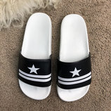 Шлепанцы Givenchy Slide Sandal Star Black