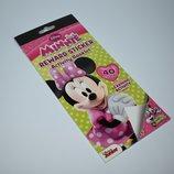 новый набор наклеек disney minnie mouse reward stickers activity booklet оригинал сша