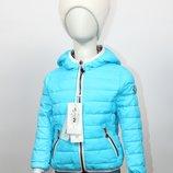 Двусторонняя куртка демисезонная для девочки Mixture Италия