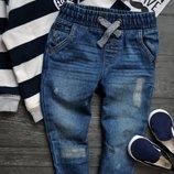 Офигенные джинсы с потертостями f&f 18-24месяцев