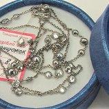 Цепочка серебро 925 проба 8,75 грамма длина 90 см.