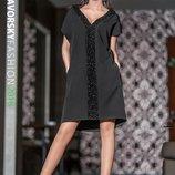 Платье черное нарядное «Кристи»