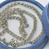 Цепочка серебро 925 проба 24,73 грамма длина 58,5 см.