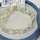 Браслет серебро 925 проба 31,04 грамма длина 19 см.