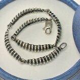 Браслет серебро 925 проба 14,04 грамма длина 20,5 см.