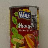 Манго в сиропе Kier 425 г Бесплатная доставка по Киеву от 700 грн