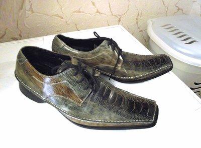 Эксклюзив Италия Кожаные мужские туфли GUCINARI 7c11e84607ebc