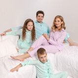 Уютная мужская пижама в полоску