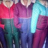 зимние женские костюмы на овчине,тренд 2019г-распродажа
