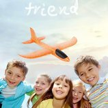 Самолёт Планер метательный Airplane в подарок маленький самолет-планер, новый