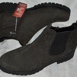 Ботинки челси кожа gabor размер 41 43 7,5 42, черевики челсі ботінки шкіра