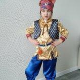 Прокат детский карнавальный маскарадный костюм гномика, гном, гномик лесного гнома на утренник киев