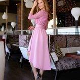 платье 42-44 44-46 46-48 48-50 ткань верх дорогой гипюр с блёстками низ креп костюмка