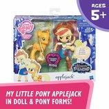 My Little Pony Applejack Glitter Pony Май литтл пони Эпплджек и блестящая пони