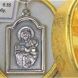 Подвеска медальон серебро 925 проба 6,55 грамма