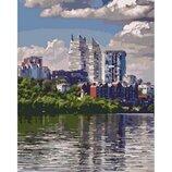 Картина по номерам. Городской пейзаж Любимый город 40 50см KHO2186