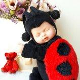 Кукла божья коровка Anne Geddes оригинал