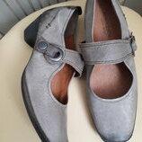40 p. Кожаные удобные туфли Novosento