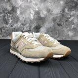 Женские кроссовки New Balance 574, Оригинал, Безупречное качество, р. 36-41,5, INFWL574BCA