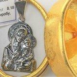 Подвеска медальон серебро 925 проба 8,18 грамма