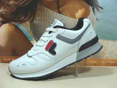 Мужские кроссовки Fila RJ STAR 85 белые 41р-45р