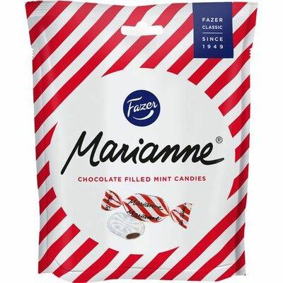 Мятные конфеты с шоколадной начинкой Fazer Marianne 220 грамм, Финляндия