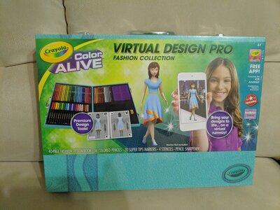 Nabor Dlya Tvorchestva Krajola 62 Predmeta Crayola Virtual Design Pro 630 Grn Nabory Dlya Rukodeliya Crayola V Harkove Obyavlenie 20199444 Klubok Ranee Klumba