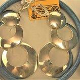 Серьги серебро 925 проба 15,34 грамма