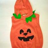George новогодний карнавальный костюм для ребенка тыква тыковка Джорджи Детская одежда Хеллоуин
