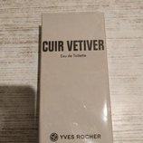 Туалетная вода cuir vetiver yves rocher 100 ml