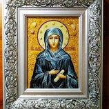 Икона с янтаря именная Мелания