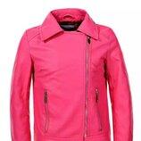 Куртки для девочек из кожзама, glo-story. 134-170 р . немного маломерят