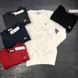 Стильные мужские свитеры Lacoste,ассортимент расцветок S / M / L / XL