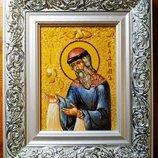 икона с янтаря именная Вадим