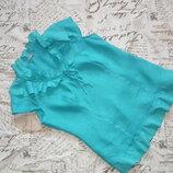 Красивая льняная блуза Per Una,р.14,пог-51,дл-63,пот-44,по низу-54,сток