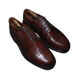 Мужские кожаные туфли броги мощные Oaktrak Oxford 10