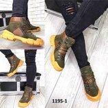 Демисезонные ботинки в стиле Gucci
