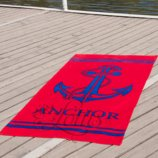 Полотенце Lotus пляжное - Mudhook 75 150 велюр