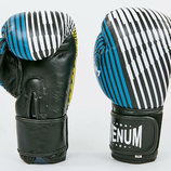 Перчатки боксерские кожаные на липучке Venum 6737 10-12 унций, кожа