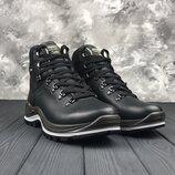 Мужские кожаные ботинки Grisport, Оригинал, Топ качество, осень-зима р. 41-46, INF13701-V39