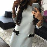 Элегантное женское платье «Бантики»