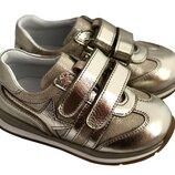 Кожаные детские кроссовки турецкой обувной фабрики Перлина 21 - 30р