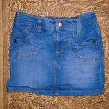 Юбка джинсовая стрейч