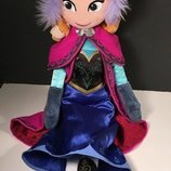 большая плюшевая кукла Принцесса Анна Disney Англия оригинал 56 см