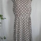 Элегантное платье в горошек wallis 18p