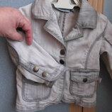 Джинсовый пиджак джинсовая куртка Campus